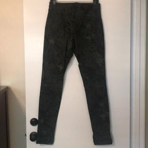 Joe's Jeans Skinny Floral Camo Print